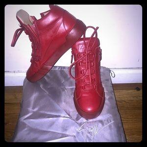 Giuseppe Zanotti Mens Designer Sneaker size 42